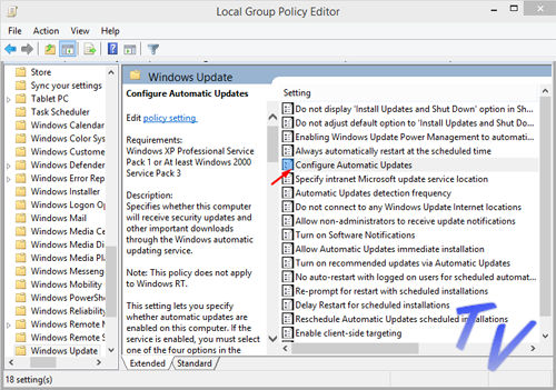 Local group policy editor Windows 10