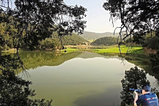 الجمال الطبيعي:بحيرة تسليت منطقة تكلمامين خنيفرة