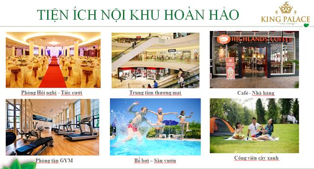 tiện ích hoàn hảo tại chung cư King Place Nguyễn Trãi
