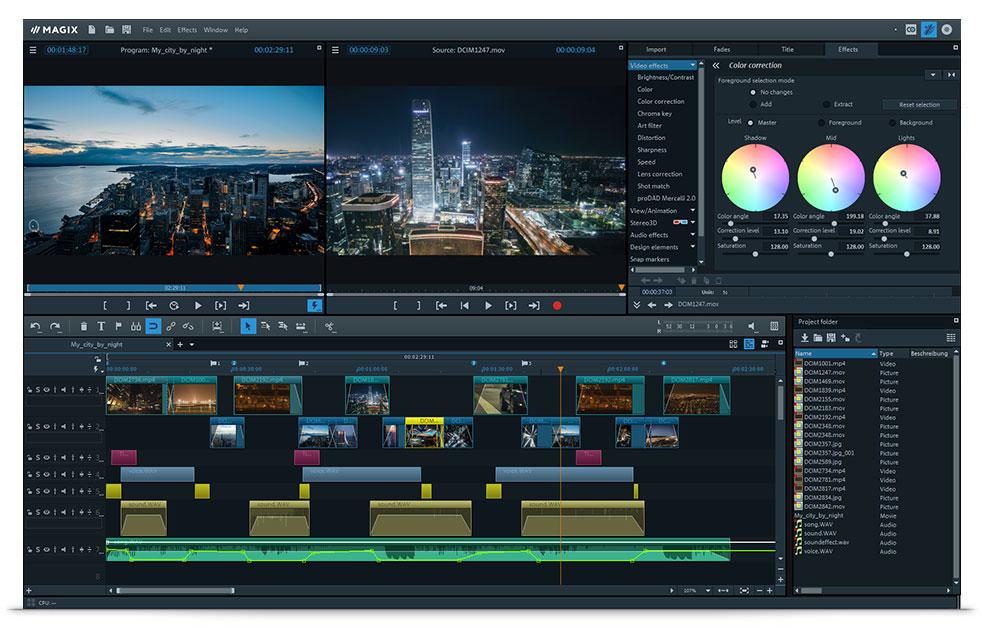 magix video pro x9 download