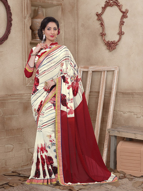 https://www.giadesigner.in/product/princess-off-white-maroon-georgette-saree-with-off-white-maroon-georgette-blouse/