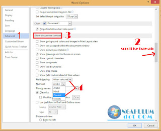 cara menulis huruf arab di ms word windows 8