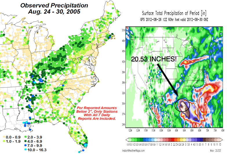 The Weather Centre: NEW GFS Brings 2x More Rain to New ...