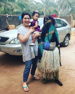 Photos: Chinese woman, Mama Adaobi is very much at home in her husband