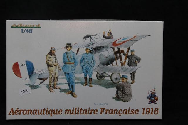 Figurine Aéronautique Française 1916 Eduard 1/48