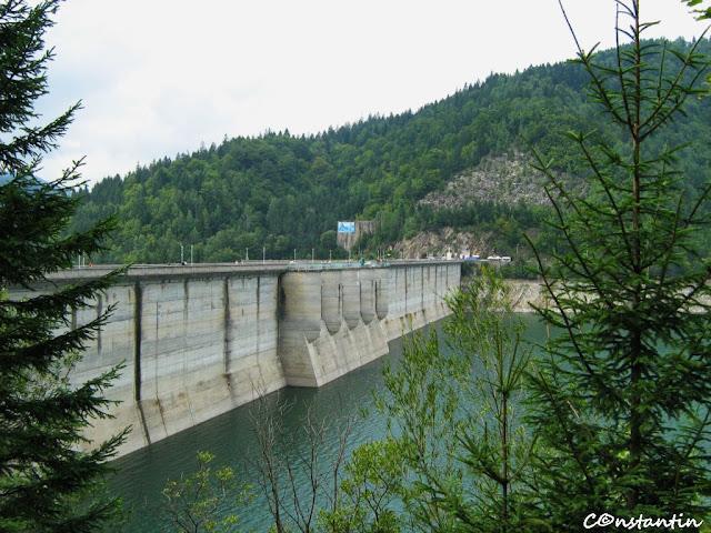 Barajul de la Bicaz - blog FOTO-IDEEA
