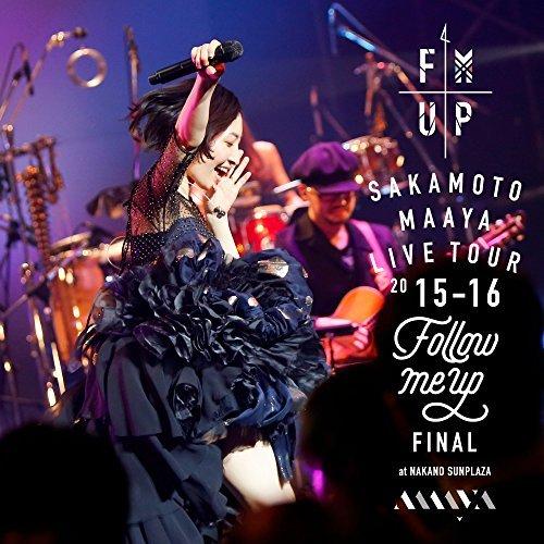 "[Album] 坂本真綾 – LIVE TOUR 2015-2016 ""FOLLOW ME UP"" FINAL at 中野サンプラザ (2016.07.27/MP3/RAR)"