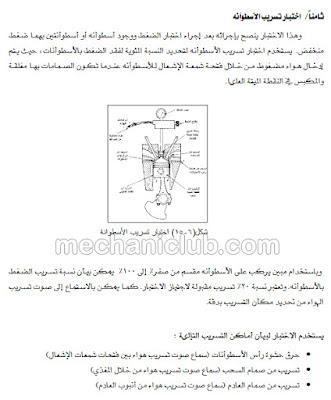 كتاب تشخيص الأعطال في محرك الديزل وشرح التوضيب PDF