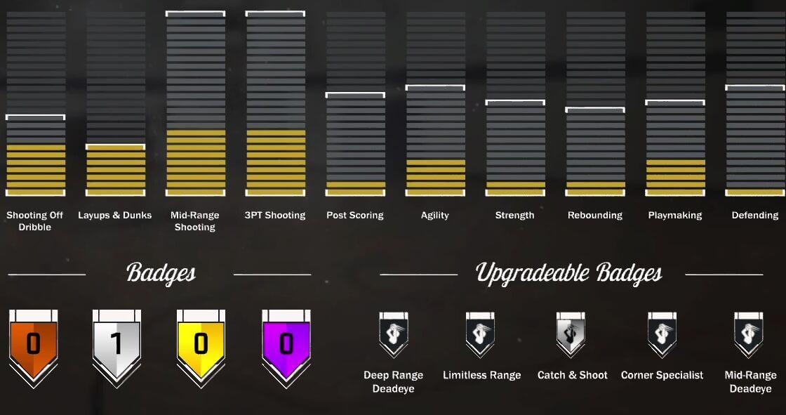 nba 2k17 badge guide
