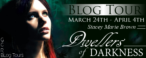 Blog Tour: Dwellers of Darkness ~ Spotlight ~ Review ~ Giveaway !!! ~ Curse of the Bibliophile