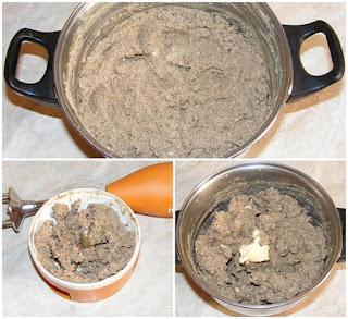 ficat prajit cu ceapa si sunca mixate la blender, cum facem pate de casa cu ficat de porc, retete culinare,