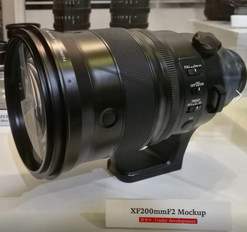 Fujifilm XF 200mm f/2.0 OIS WR