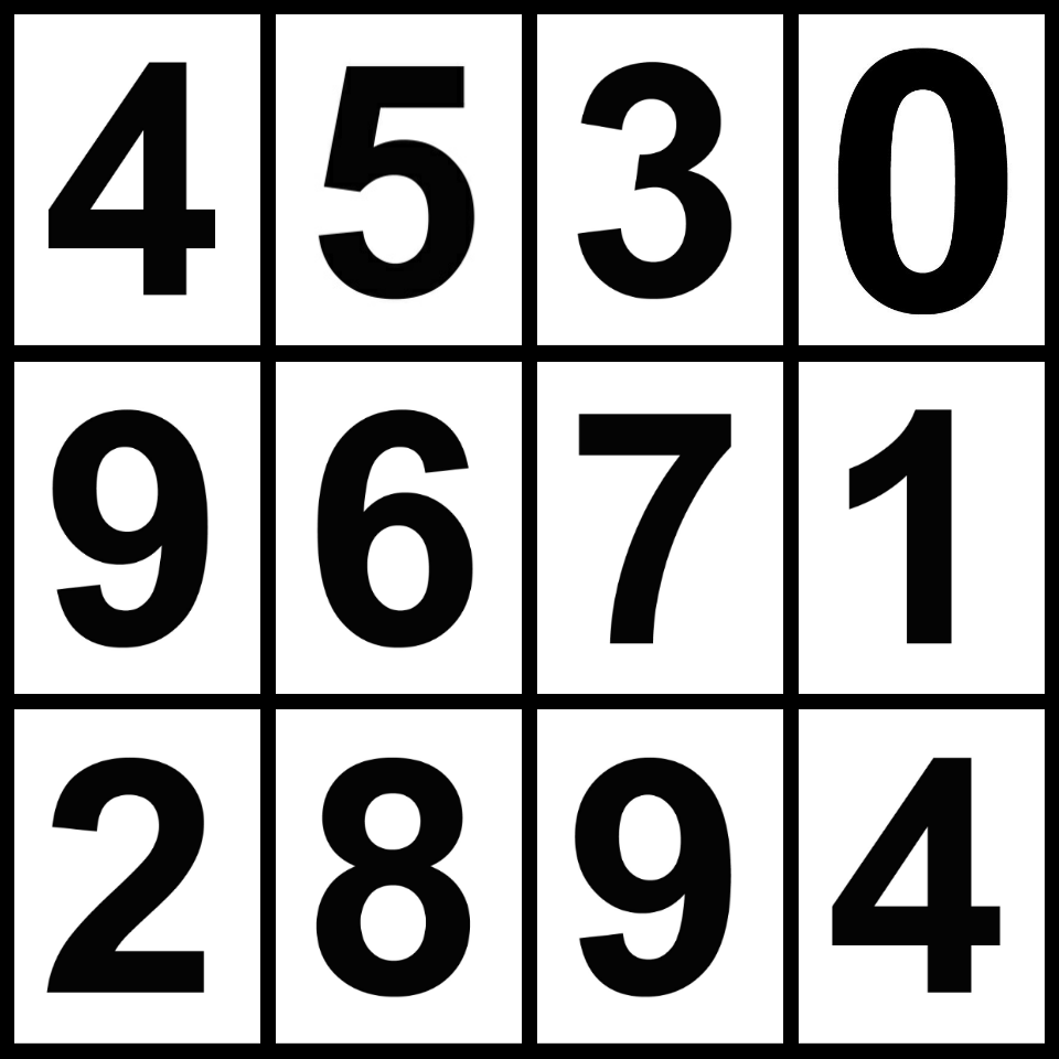 4D lottery predict