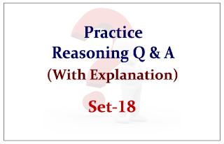 Practice Reasoning Questions (with explanation) for Upcoming Bank PO and Clerk Exams 2015 Set-18