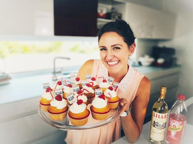 Lilly Kürten von Lilly's Cupcakery mit Lillet Cupcakes.