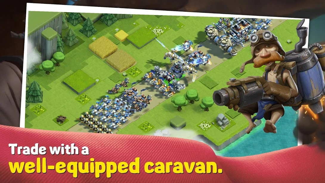 Caravan War: Heroes and Tower Defense-Apklover