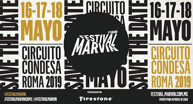 FESTIVAL MARVIN 2019: FECHAS