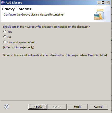 Java mon amour: Build path entry is missing: GROOVY_SUPPORT