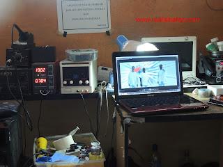 Servis Laptop Toshiba L645 (sering mati)