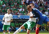 Prancis vs Irlandia 2-1 Video Gol & Highlights