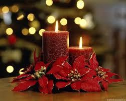 Свечи — обязательный атрибут вечера.