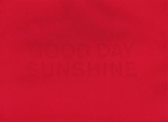 Stephan van den Burg  Good Day Sunshine, 2013 ecoline and toner ink on paper 29.7 x 21 cm