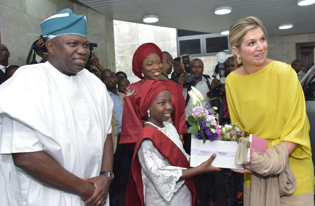 Photos & Full Details From The Visit Of Queen Of Netherlands To Governor Ambode3