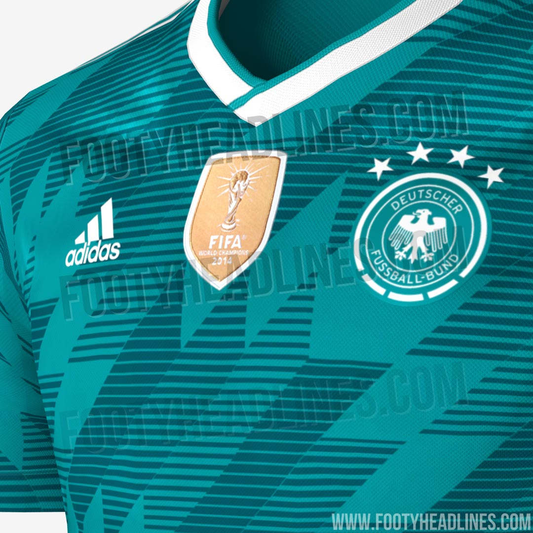 Germany 2018 World Cup Away Kit Leaked