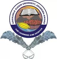 AAUA 2018/2019 JUPEB Programme Admission Form Out