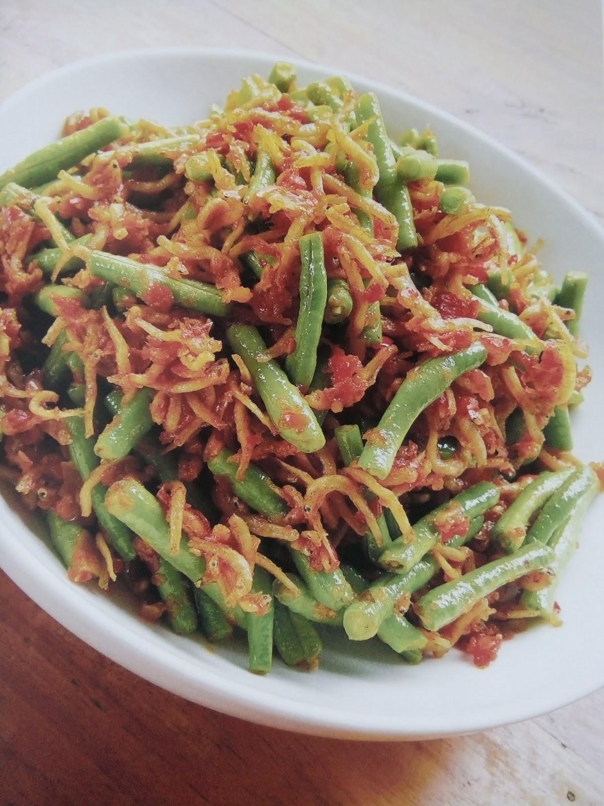 Resep Sambal Teri Kacang Panjang