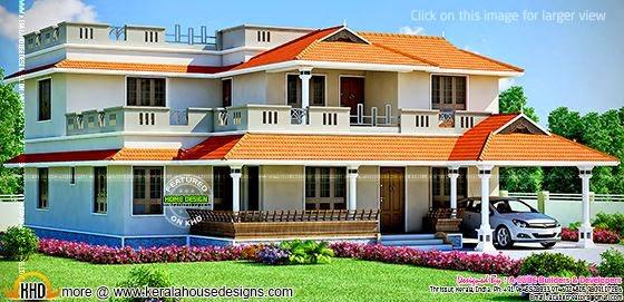 Large house design