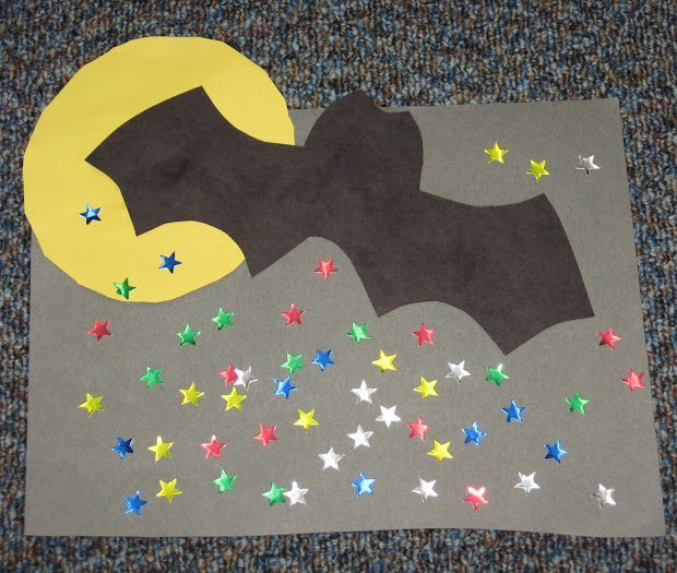 Nocturnal Animals Preschool Crafts