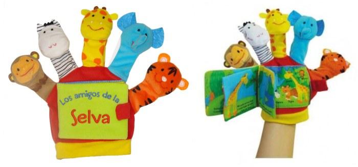 mejores cuentos libros infantiles los amigos de la selva libro guante edebe