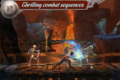 Tampilan Game Prince of Persia Shadow & Flame Android