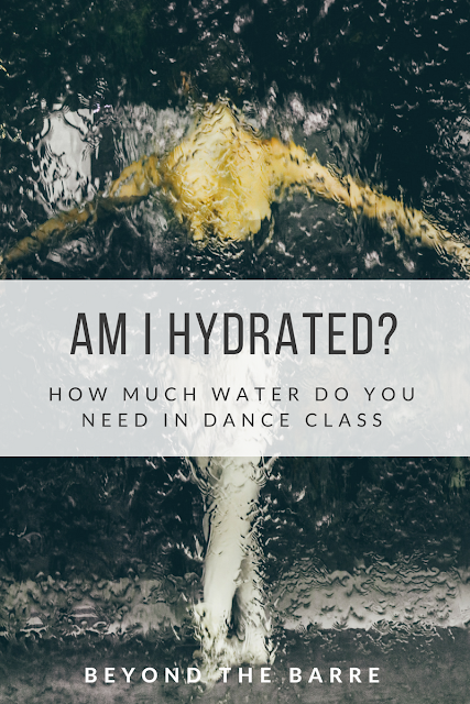 Am I Hydrated? Drinking Water In Dance Class