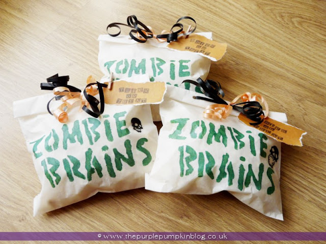 Bags o' Brains for #Halloween Trick or Treat   The Purple Pumpkin Blog