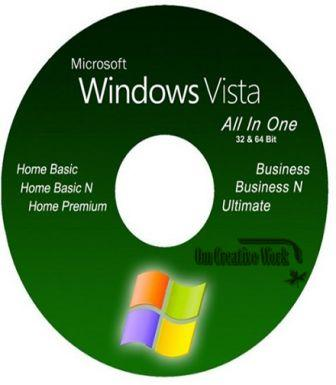 Windows Vista All In One x86 / x64 Free Download