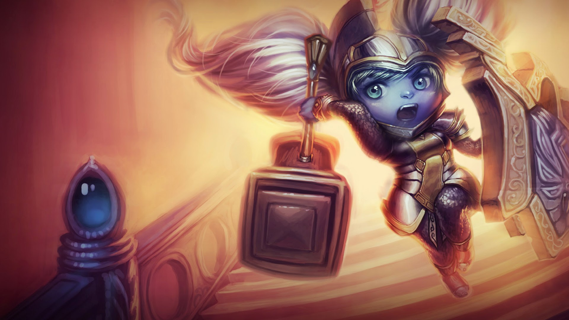 League Of Legends Poppy Wallpaper: This Domain May Be For Sale