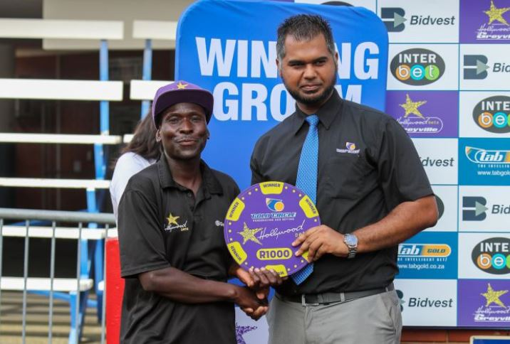 Grooms' Initiative Winner at Hollywoodbets Greyville