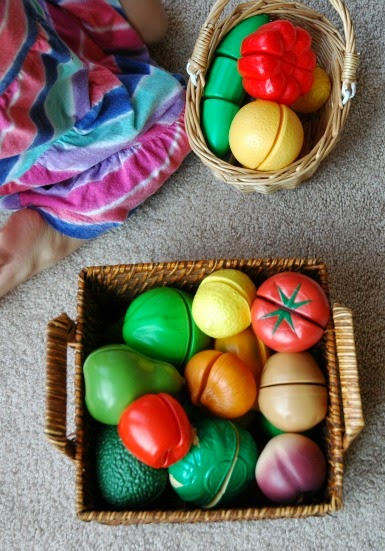 Fruit and Vegetable Sorting for Preschool