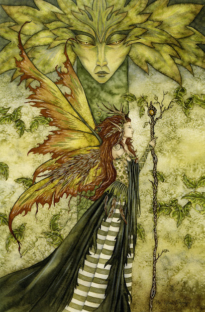 Amy Brown Forest Spirit Tutt'art Pittura Scultura Poesia Musica