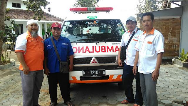 Team Relawan kemanusiaan mdmc & Lazismu yang akan diberangkatkan ke Bali