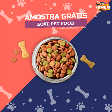 Amostra Grátis de Ração Love Pet Food
