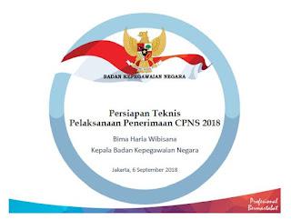 Persiapan Teknis Pelaksanaan Penerimaan CPNS 2018