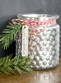 Inexpensive Dollar Tree votive holders for the holidays