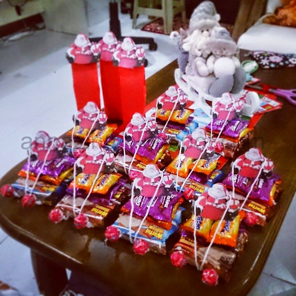 Giveaways For Christmas Party: Annazing: DIY Party Favors And Decor For Christmas