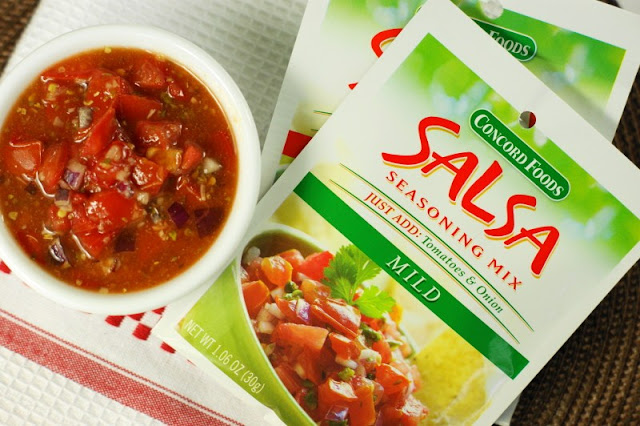 Concord Foods Salsa Mix Package Image
