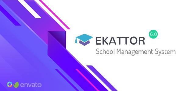 Ekattor School Management System is the most consummate too versatile schoolhouse administration sys Ekattor v6.0 - School Management System - NULLED