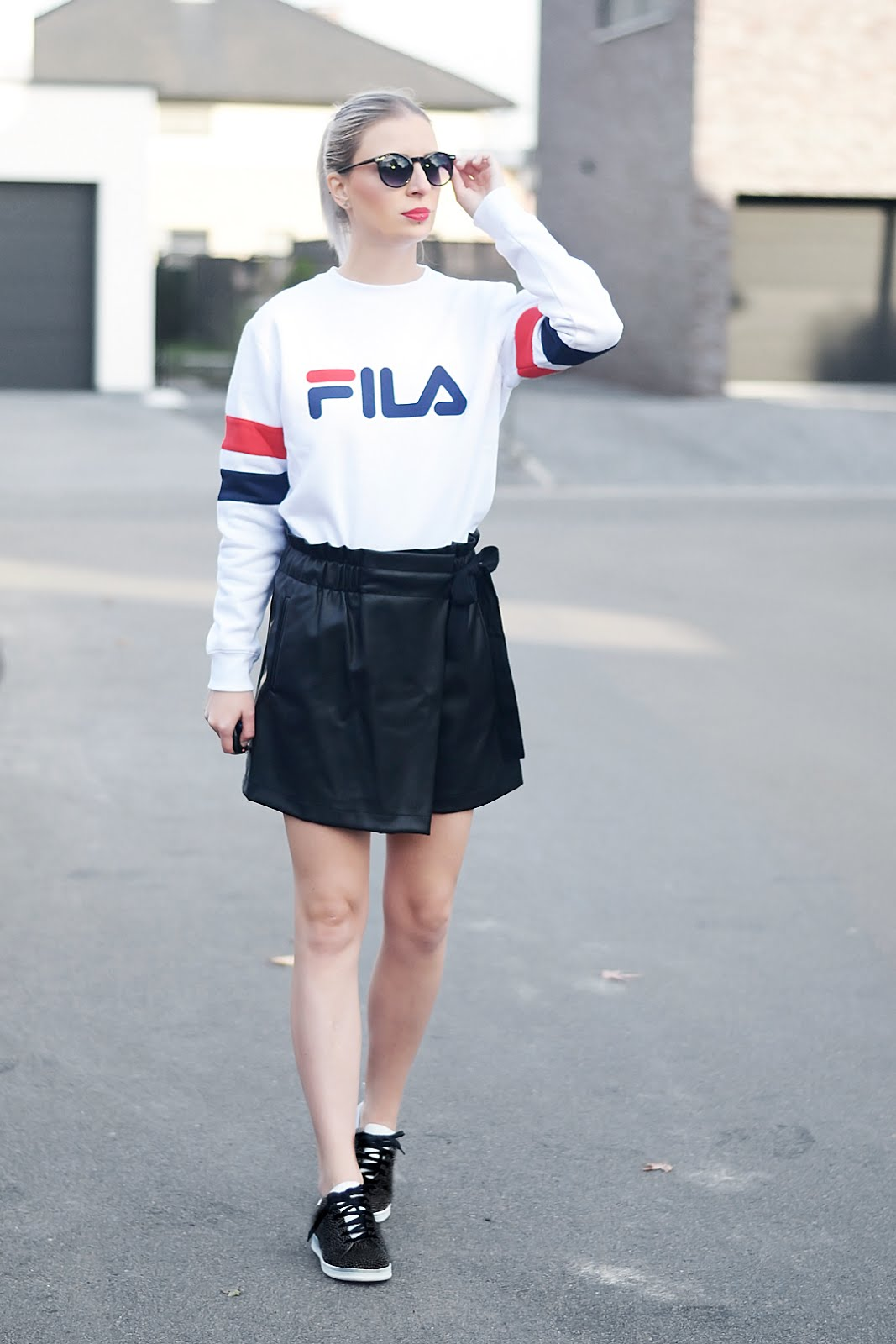 Fila, style guide, jd sports, sweatshirt, zara, skort, fall 2016, maruti footwear