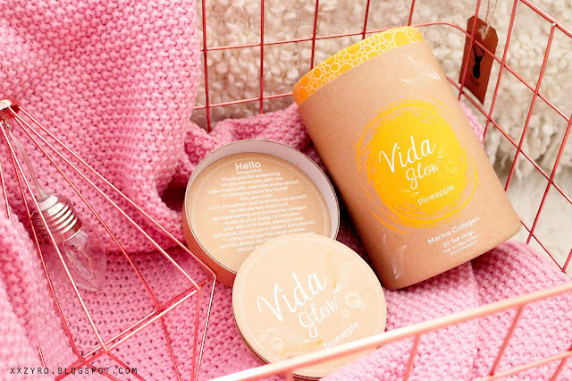 Vida Glow, Collagen drink, Marine Collagen,